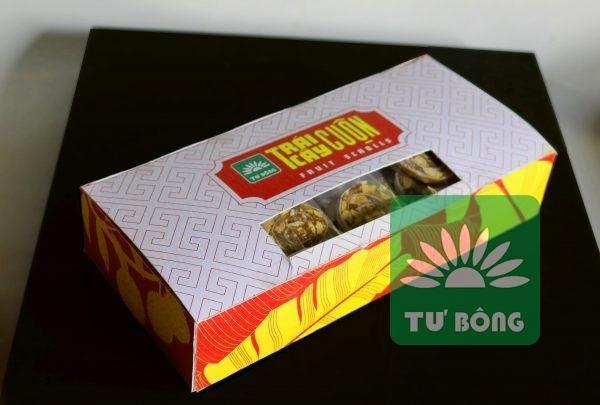 trái cây cuộn hỗn hợp